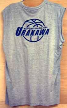 バスケットチーム用シャツ